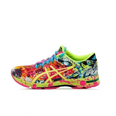 chaussure asics multicolore