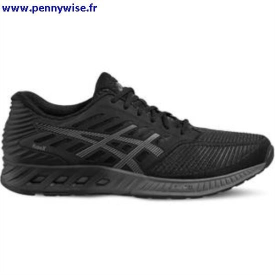 asics blanche point noir