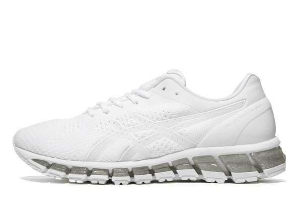 asics blanches femme