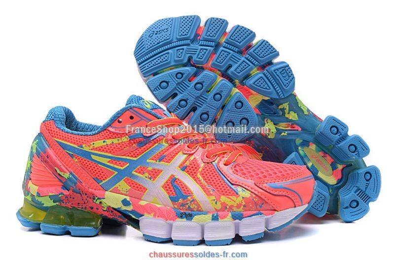 chaussures asics running femme soldes