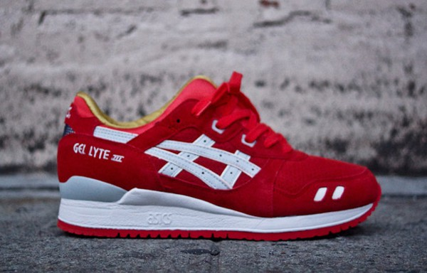 asics gel lyte 4 rouge