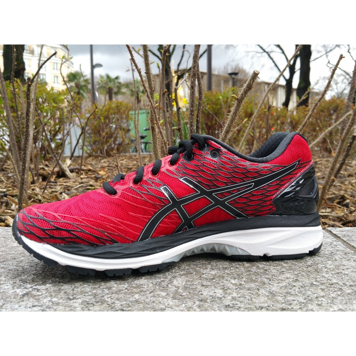 asics gel nimbus 18 rouge
