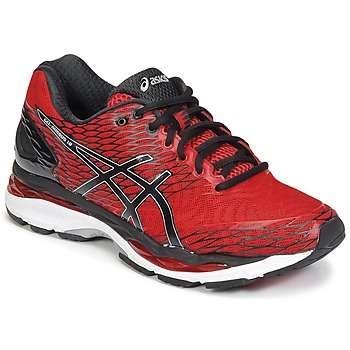 chaussure asics rouge